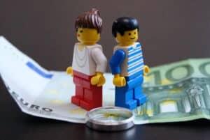 Scheidung von Mann und Frau