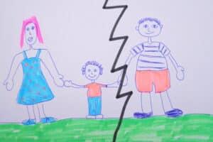 Scheidung mit Kind
