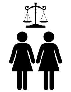 Für eine eingetragene Lebenspartnerschaft gelten grundsätzlich dieselben Rechte wie die einer Ehe