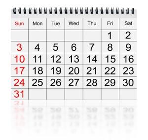 Der Scheidungsantrag kann ca. zwei Monate vor Ende des Trennungsjahres beim Gericht eingereicht werden, wenn die Scheidung einvernehmlich ist