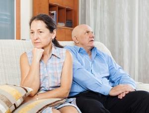 Scheidung: Auch das Sofa kann zum Streitthema werden.