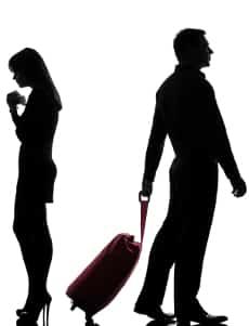 """Wann müssen Sie den neuen Familienstand """"geschieden"""" angeben?"""