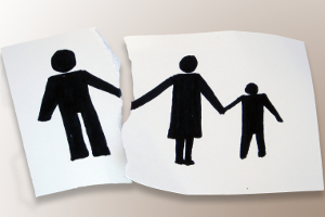 Eine Scheidung kann einen Anspruch auf Sozialhilfe begründen.