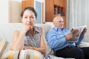 Eine freundschaftliche Trennung kann auch in der gemeinsamen Wohnung erfolgen.