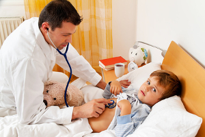 Vernachlässigte Kinder werden oft auch nicht adäquat medizinisch betreut.