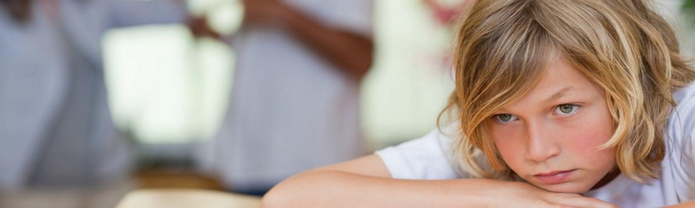 Vernachlässigung von Kindern - Header