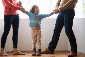 Zum Wohle des Kindes rät eine Scheidungsberatung zu einer Paar- bzw. Elterntherapie