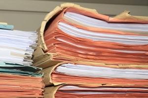 Für die Trennung oder Scheidung werden einige Unterlagen benötigt.