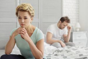 Die Schuldfrage bei einer Scheidung wird dem Zerrüttungsprinzip untergeordnet.