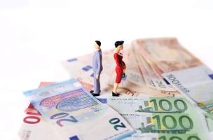 Kindesunterhalt, nachehelicher oder Trennungsunterhalt: Die Höhe bemisst sich anhand der Einkommensverhältnisse des Schuldners.