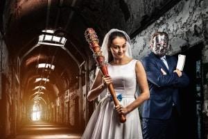 Freddy und Jason können einpacken: Diese Horror-Scheidungen reichen für ein ordentliches Halloween allemal aus.