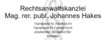 Rechtsanwalt Mag. rer. publ. Johannes Hakes